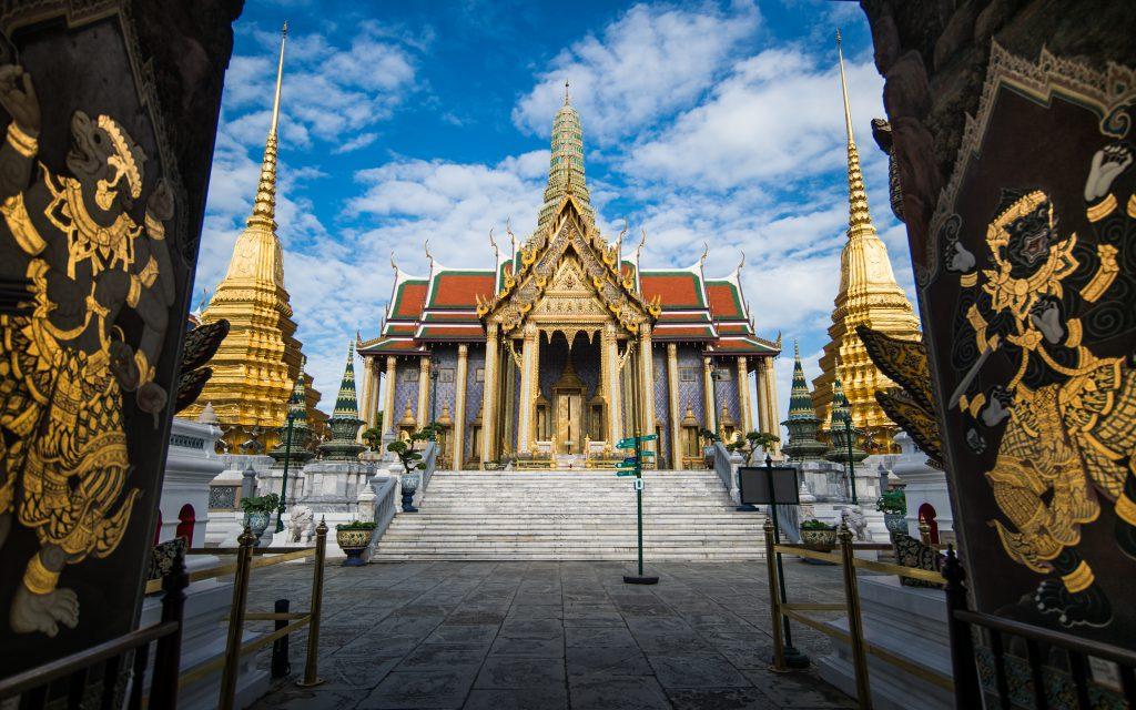 Grand Palace Tempel in Bangkok, Thailand