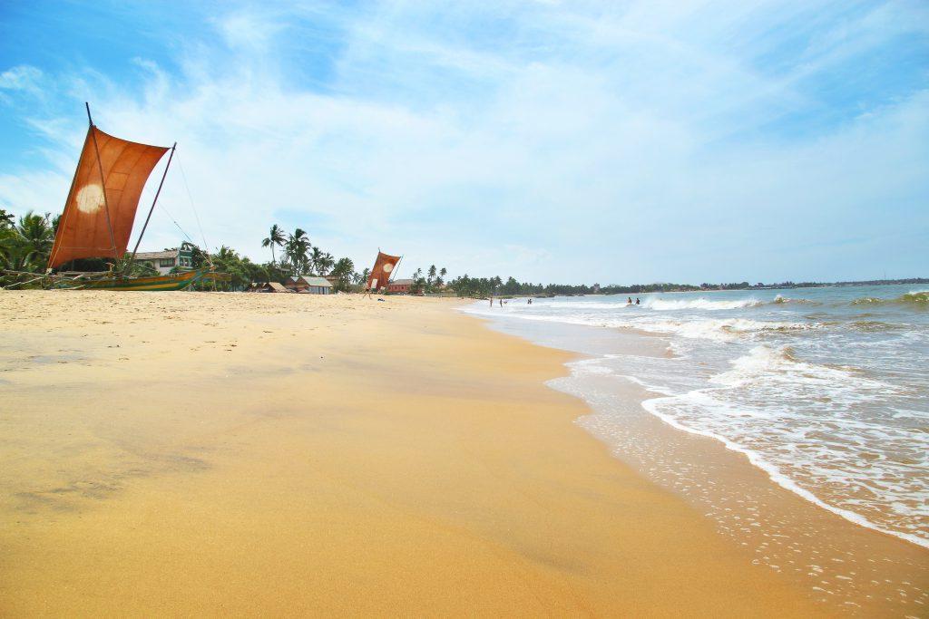 Strand in Nebgombo, Sri Lanka