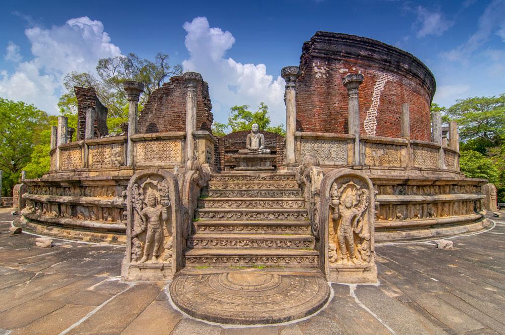 Sri Lanka, Polonnaruwa, Ruinen, Tempel